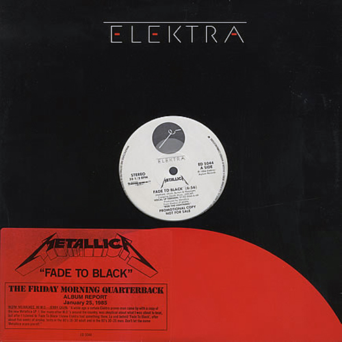 Fade to Black (single)