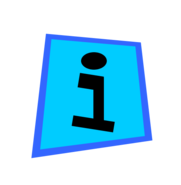 Information icon svg