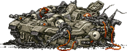 MSA Bit Tank Destroyed
