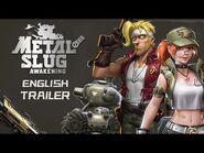 Metal Slug Code- J - Global Release Trailer (MS- Awakening)