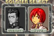 Tyra select screen