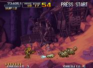 Metal Slug X Ingame 4