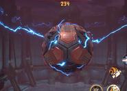 Hyper magnetic sphere (code j)