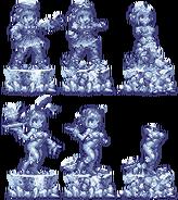 Beatriz ice sculptures