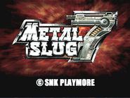Metal Slug 7 logo