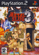 Metal Slug 3 PS2 Cover
