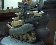 Big shiee Sculpture ready to paint