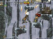 Metal-slug-4-neo-geo-screenshot-in-a-short-part-of-mission