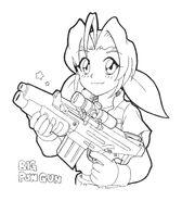 Eri Pow Gun Artwork