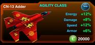 Cn-13 adder