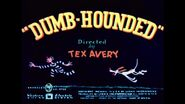 Dumb-Hounded (1943) with original recreated titles