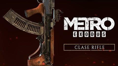 Metro Exodus - Clase Rifle ES