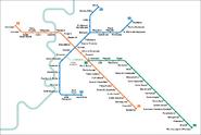 Romemetromap