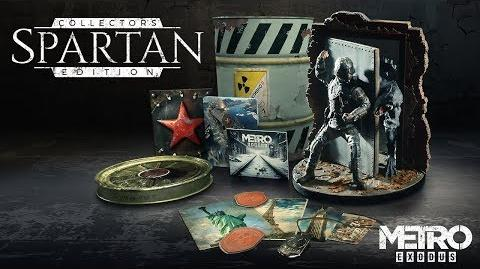 Anuncio Metro Exodus - Spartan Collector's Edition ES