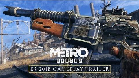 Metro Exodus - E3 2018 Trailer Gameplay ES