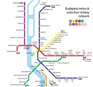Budapestmetromap