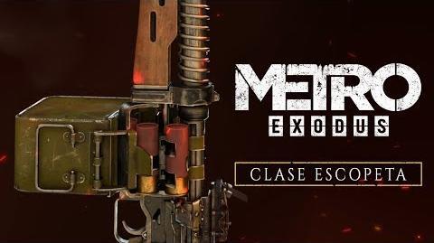 Metro Exodus - Clase Escopeta ES