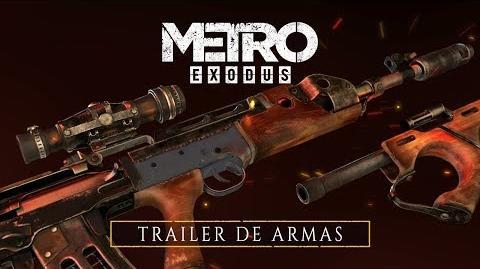 Metro Exodus - Trailer de Armas ES