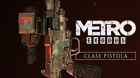 Metro Exodus - Clase Pistola ES