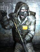 Metro 2033 - Boris with Ranger Mask