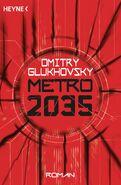 Metro 2035 - niemiecka okładka