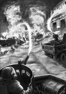 Flamethrower Attack