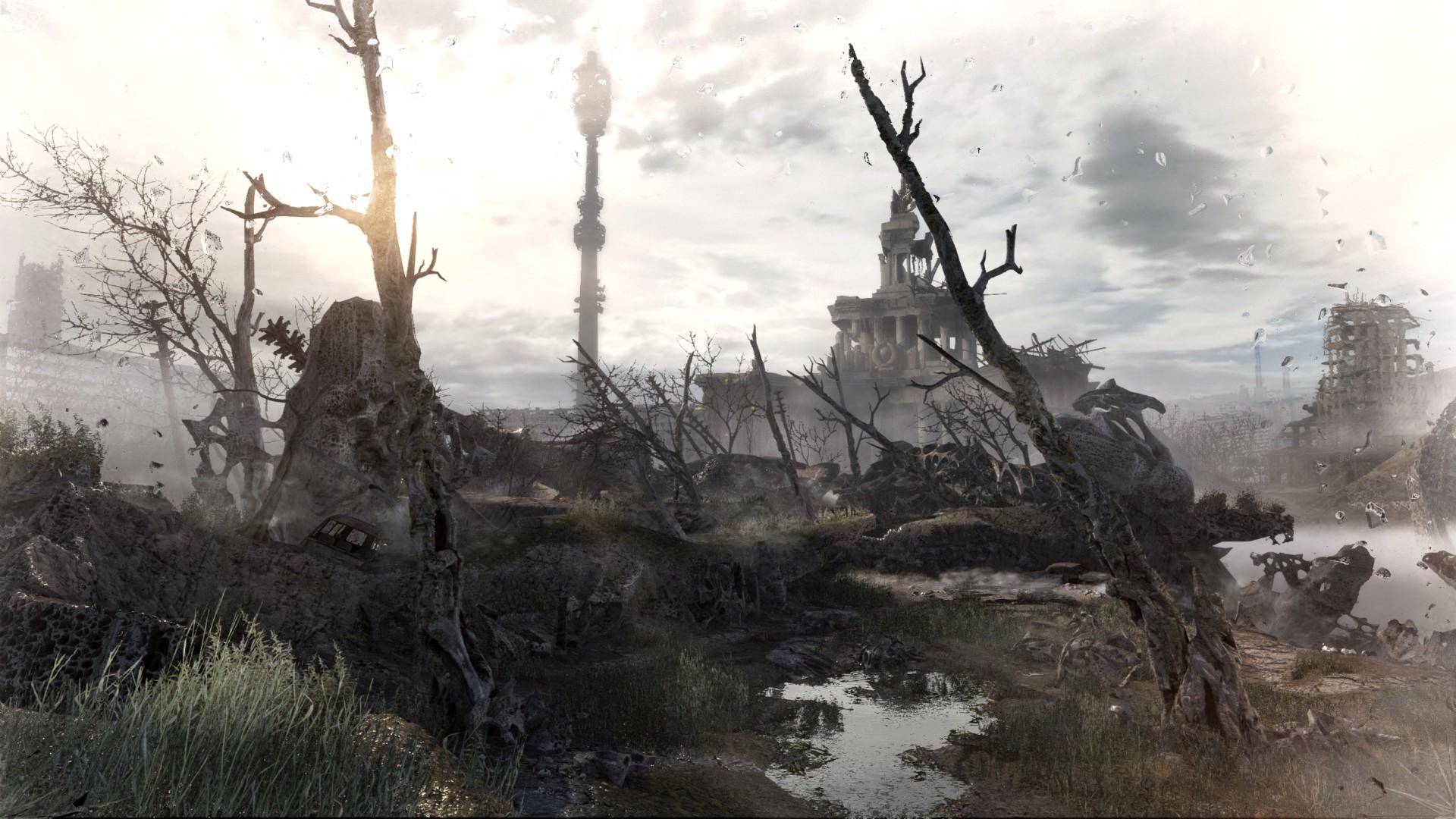 Ashes (Metro Last Light Level)