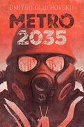 Metro 2035 - szwedzka okładka