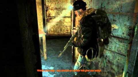 Lost Tunnel (Metro 2033 Level)/Walkthrough