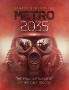 Metro 2035 - angielska okładka