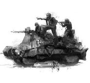Armored draisine Metro2034