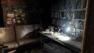 Artyom's room in Exhibition