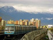 NS 93, Metro de Santiago