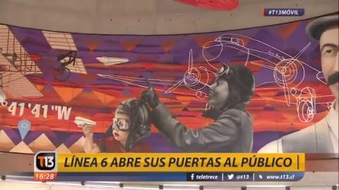 📡 EN VIVO Inauguran la Línea 6 del Metro de Santiago.