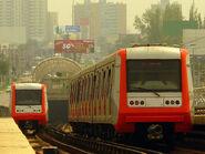 AS 2002, Metro de Santiago