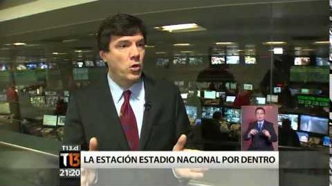 Línea 6 Metro de Santiago - estación Estadio Nacional