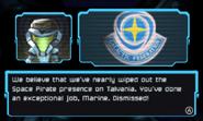 M18 Hightower post-mission briefing