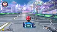Mario Kart 8 Mii back view