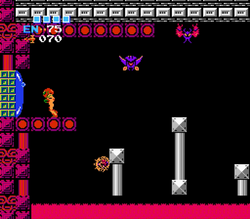 Ridley's room access Metroid.png