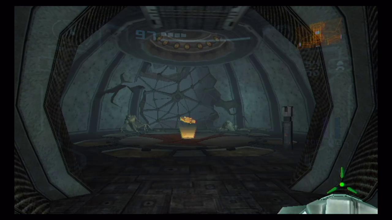 水底神殿連絡エレベーター