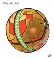 Bayonetta 2 Samus suit Morph Ball concept
