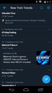 MP4 delay trending on Twitter