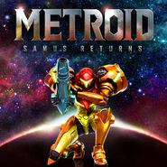 Metroid Samus Returns Boxart
