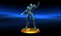 Dark Samus Trophy SSB3DS