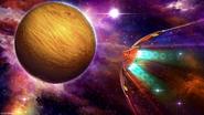 Samus flying to Zebes (MSR)