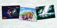High-quality Super NES Poster Set