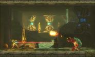 Metroid Samus Returns Arachnus Arc Fireball (Area 2)