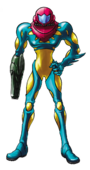 Metroid Fusion (Samus Aran Artwork 03)