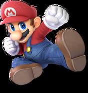 SSB Ultimate Mario render