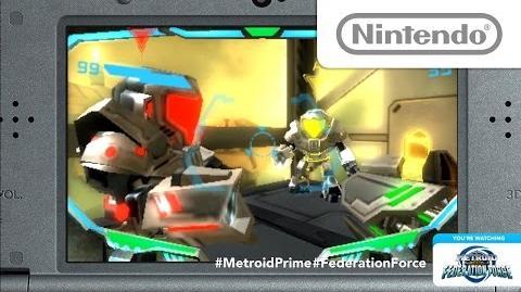 METROID PRIME FEDERATION FORCE(米国名称) Nintendo Treehouse Live@E3 2015